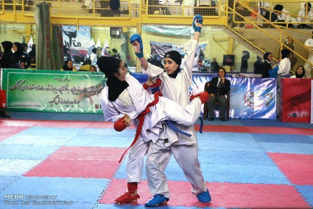 چهارمحال و بختیاری قهرمان مسابقات کاراته قهرمانی کشور شد