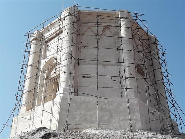 خاتمه فاز دوم پروژه سامان دهی و مرمت برج بزرگ سمیران
