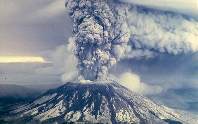 دوربینی برای اندازه گیری سرعت خاکستر آتشفشان